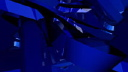 Royalty Free Video of Abstract Dark Blue Crosses