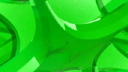 Royalty Free HD Video Clip of a Rotating Green Shape