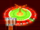 Royalty Free Video of a Roulette Wheel