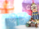 Royalty Free Video of a Pile of Gifts