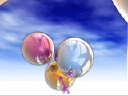 Royalty Free Video of Balloons Against the Sky