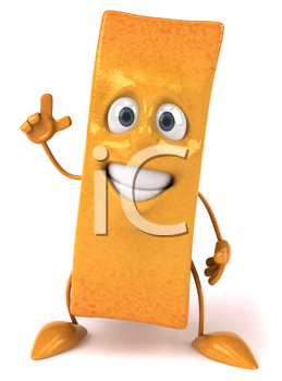 Royalty Free Clipart Image of a French Fry