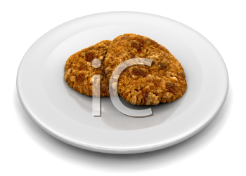 Royalty Free Clipart Image of Cookies