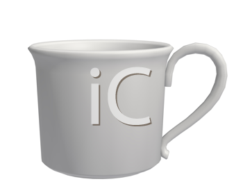 Royalty Free Clipart Image of a Teacup