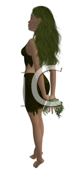 Royalty Free Photo of a Fairy or Elf