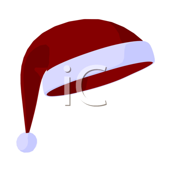 Santa Hat on a white background
