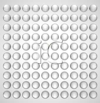 Royalty Free Clipart Image of a Spherical Background