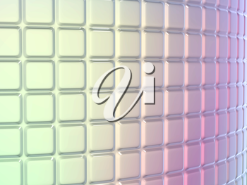 Fluted pattern with gradient colors. Useful as background