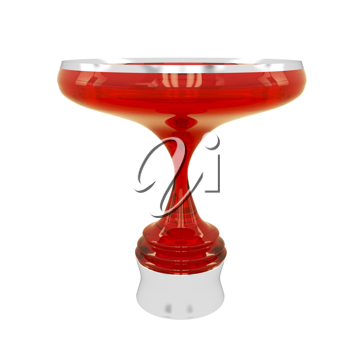 Royalty Free Clipart Image of a Trophy Cup