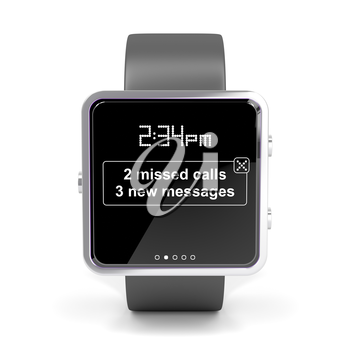 Royalty Free Clipart Image of Smart Watch
