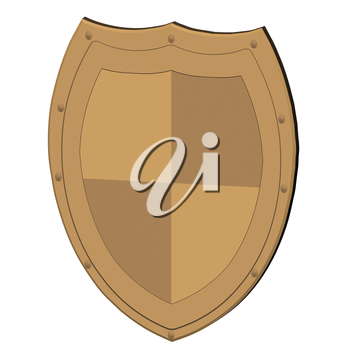 Image of a shield, as protection concept. You can place your logo.