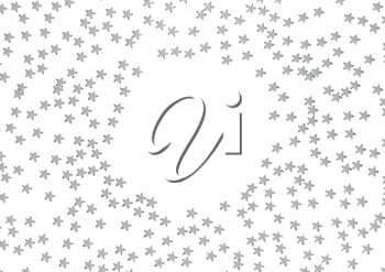 Holidays background with stars and a space for your message.