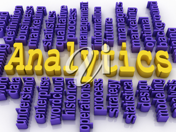 Royalty Free Clipart Image of Analytics