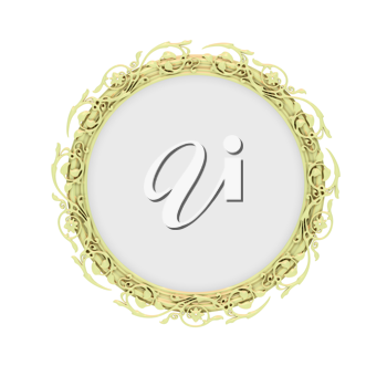 Royalty Free Clipart Image of a Mirror