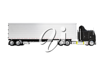 Royalty Free Clipart Image of a Truck