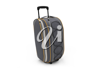 Royalty Free Clipart Image of a Suitcase