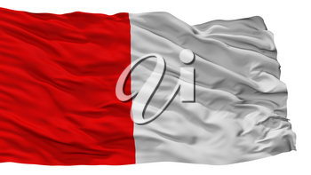 Cork City Flag, Country Ireland, Isolated On White Background, 3D Rendering