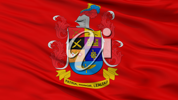 National Army Of Colombia Flag, Closeup View, 3D Rendering