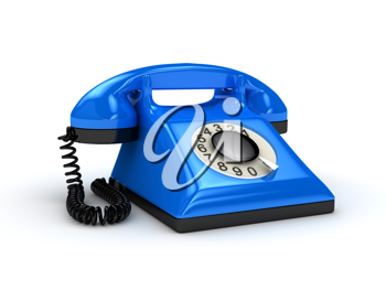 Royalty Free Clipart Image of a Telephone