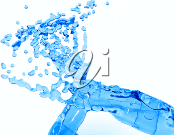 Royalty Free Clipart Image of Water