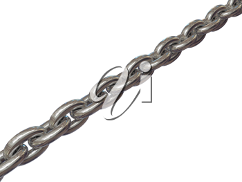 Royalty Free Clipart Image of an Iron Chain