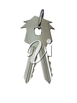 Royalty Free Clipart Image of Keys