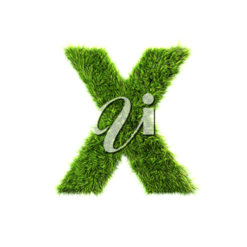 Royalty Free Clipart Image of a Letter 'X'