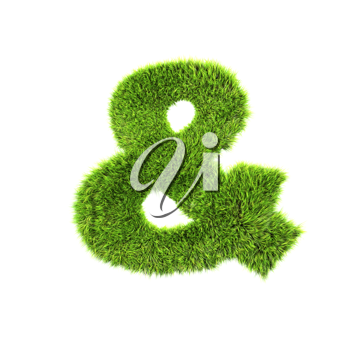 Royalty Free Clipart Image of an 'and' Symbol