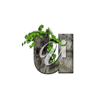 Royalty Free Clipart Image of a Letter 'u'