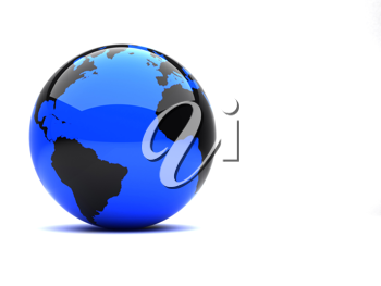 Royalty Free Clipart Image of Earth