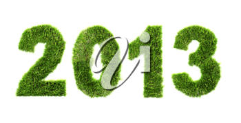 New year background - ecology concept