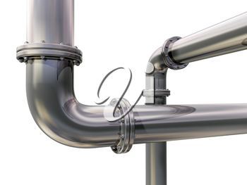 Royalty Free Clipart Image of a Pipes