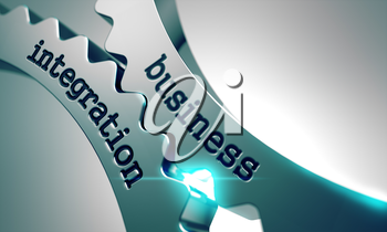 Business Integration on the Mechanism of Metal Gears.