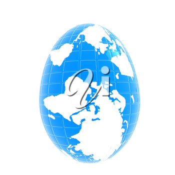 Global Easter on a white background