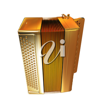 Musical gold icon instruments - bayan