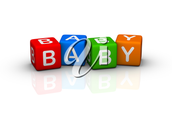 baby (buzzword colorful cubes series)