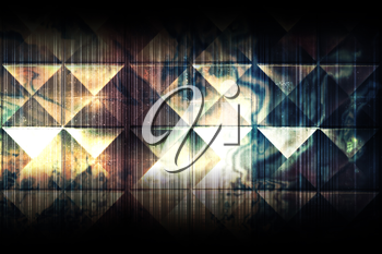 Abstract dark grungy background texture, colorful cg pattern