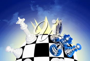 World championship chess crown.